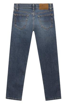 Детские джинсы POLO RALPH LAUREN синего цвета, арт. 323759991 | Фото 2