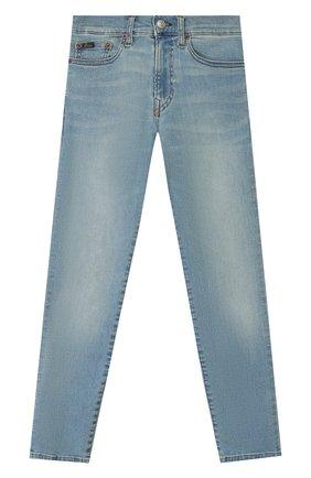 Детские джинсы POLO RALPH LAUREN голубого цвета, арт. 323750423 | Фото 1