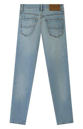 Детские джинсы POLO RALPH LAUREN голубого цвета, арт. 323750423 | Фото 2