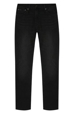 Детские джинсы POLO RALPH LAUREN черного цвета, арт. 323701279 | Фото 1