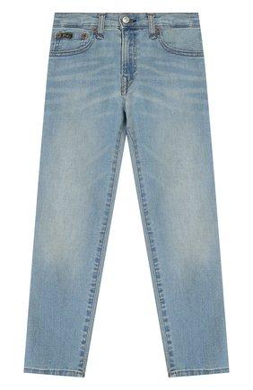 Детские джинсы POLO RALPH LAUREN голубого цвета, арт. 322750423 | Фото 1