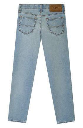 Детские джинсы POLO RALPH LAUREN голубого цвета, арт. 322750423 | Фото 2