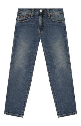 Детские джинсы POLO RALPH LAUREN синего цвета, арт. 321759991 | Фото 1