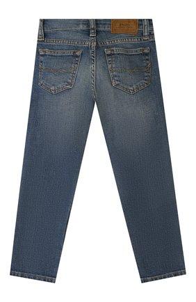 Детские джинсы POLO RALPH LAUREN синего цвета, арт. 321759991 | Фото 2