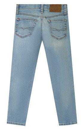 Детские джинсы POLO RALPH LAUREN голубого цвета, арт. 321750423 | Фото 2