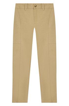 Детского брюки POLO RALPH LAUREN бежевого цвета, арт. 313750857 | Фото 1