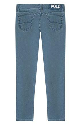 Детские джинсы POLO RALPH LAUREN синего цвета, арт. 313750605 | Фото 2