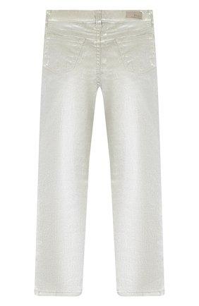 Детские джинсы POLO RALPH LAUREN серебряного цвета, арт. 312750617 | Фото 2