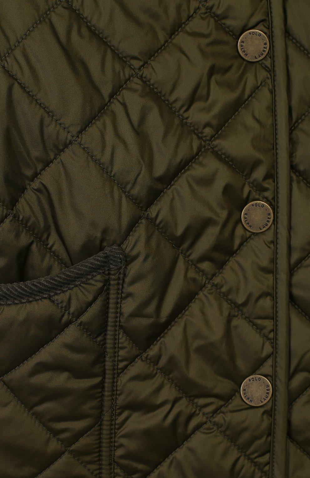 Стеганое пальто с капюшоном   Фото №3