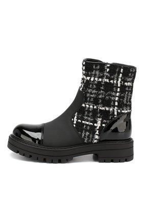 Детские ботинки MISSOURI черного цвета, арт. 85839M/35-41 | Фото 2