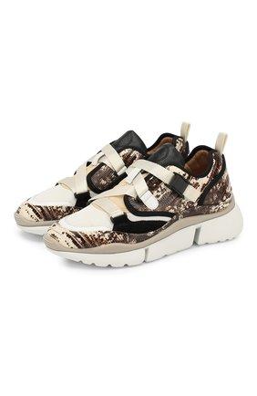 Комбинированные кросcовки Sonnie | Фото №1