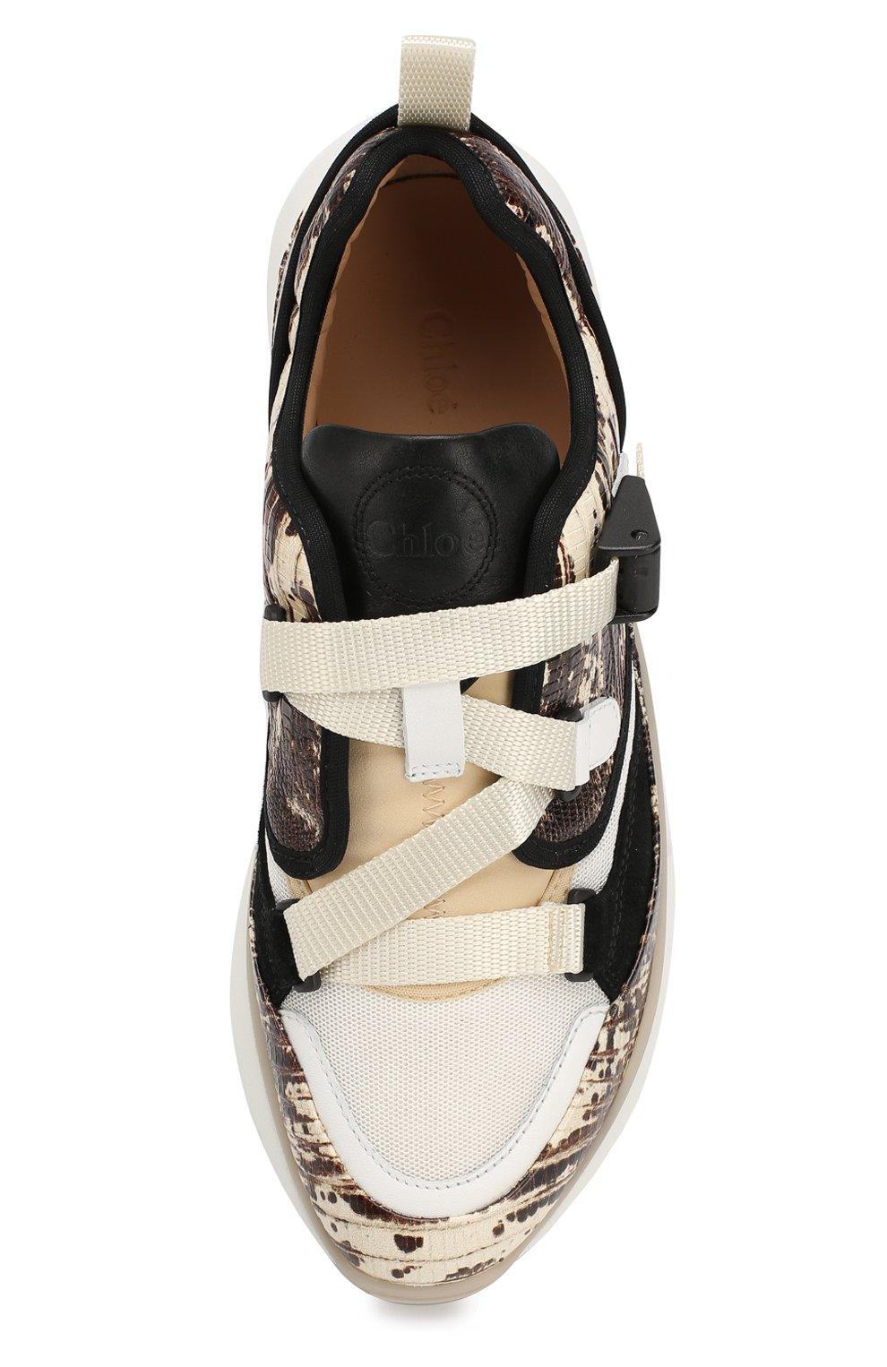 Комбинированные кросcовки Sonnie | Фото №5