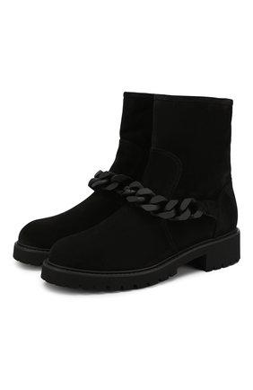 Замшевые ботинки Desy    Фото №1