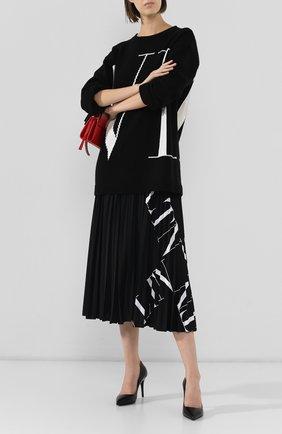 Женская кожаные туфли valentino garavani vltn VALENTINO черного цвета, арт. SW2S0Q35/DGQ | Фото 2