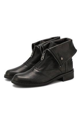 Женские кожаные ботинки PERTINI черного цвета, арт. 192W15979D5 | Фото 1