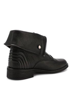 Женские кожаные ботинки PERTINI черного цвета, арт. 192W15979D5 | Фото 4