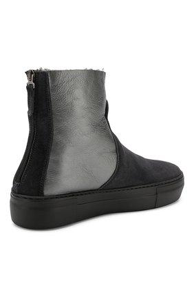 Комбинированные ботинки | Фото №4