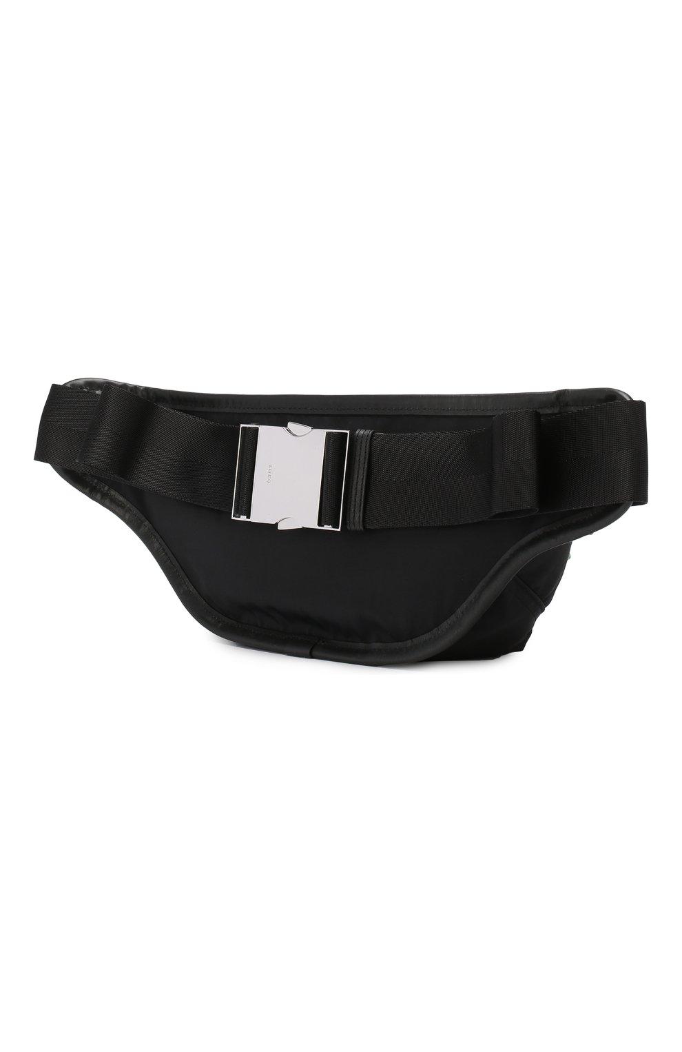 Мужская текстильная поясная сумка KENZO черного цвета, арт. F855SF212F24 | Фото 3