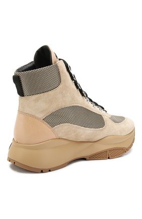 Замшевые кроссовки Inca | Фото №4