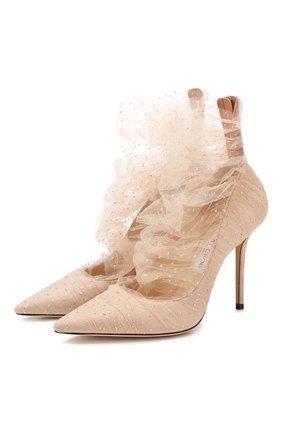 Замшевые туфли Lavish 100 | Фото №1