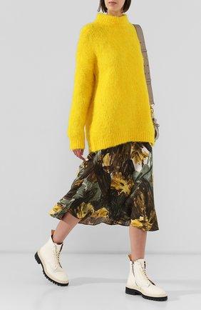 Женские кожаные ботинки PROENZA SCHOULER белого цвета, арт. PS29042B/08226 | Фото 2