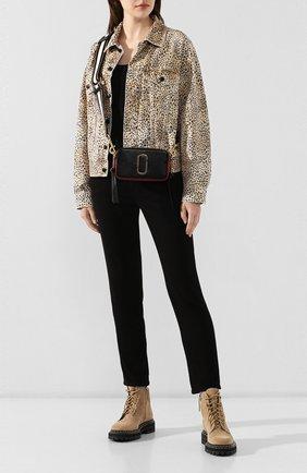 Женская сумка snapshot MARC JACOBS (THE) черного цвета, арт. M0012007-011 | Фото 2