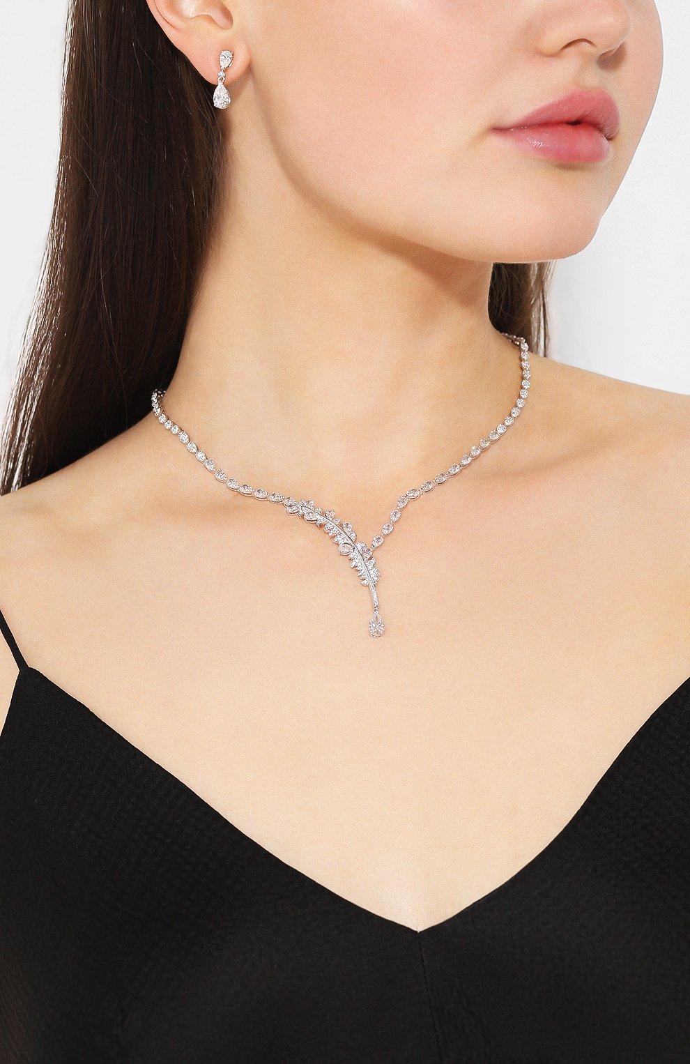 Женский комплект nice SWAROVSKI серебряного цвета, арт. 5506752 | Фото 2