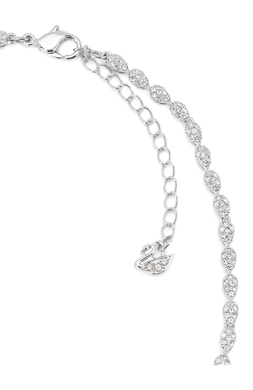 Женский комплект nice SWAROVSKI серебряного цвета, арт. 5506752 | Фото 5