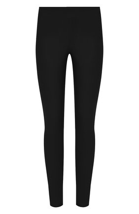 Женские кожаные брюки HELMUT LANG черного цвета, арт. G06HW240 | Фото 1