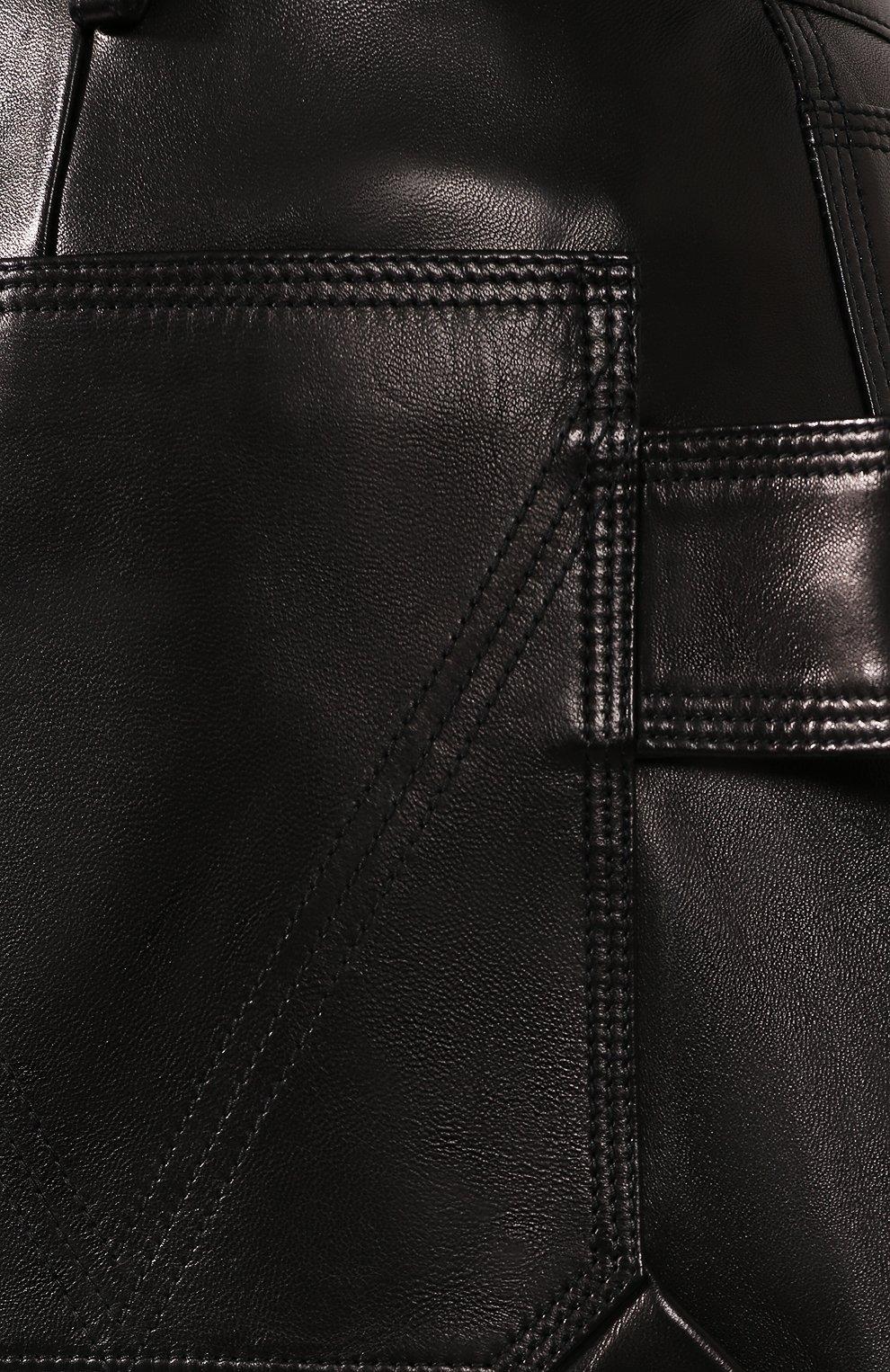 Кожаные шорты | Фото №5