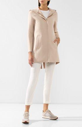 Женское шерстяное пальто COLOMBO бордового цвета, арт. GC00324/-/61075-U | Фото 2