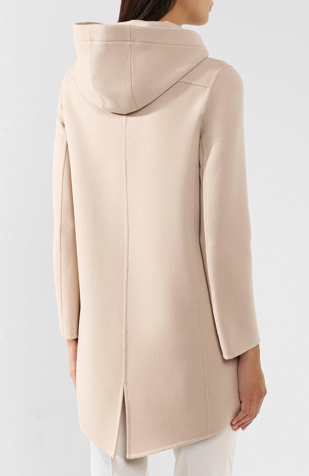Женское шерстяное пальто COLOMBO бордового цвета, арт. GC00324/-/61075-U | Фото 4