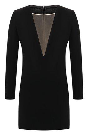 Женское платье из вискозы DSQUARED2 черного цвета, арт. S72CV0015/S48427 | Фото 1