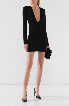 Женское платье из вискозы DSQUARED2 черного цвета, арт. S72CV0015/S48427 | Фото 2