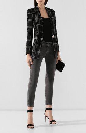Женские джинсы AG серого цвета, арт. LBK1575/BEBR | Фото 2