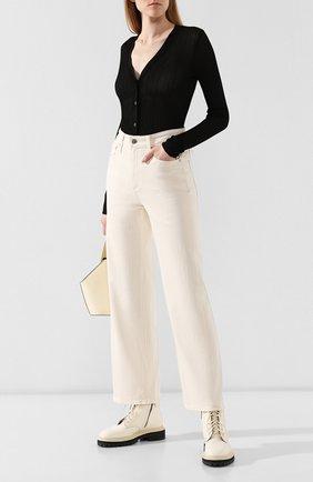 Женские джинсы AG белого цвета, арт. DSD1899/IDU | Фото 2