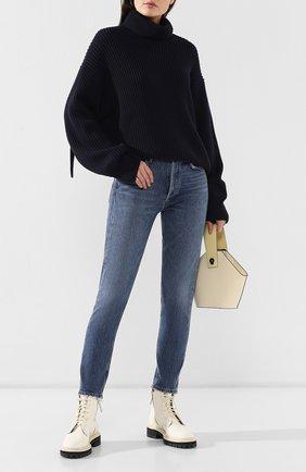 Женские джинсы AGOLDE синего цвета, арт. A045B-1139   Фото 2