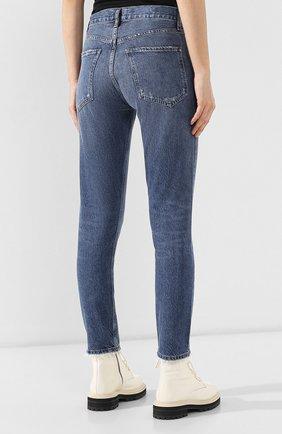 Женские джинсы AGOLDE синего цвета, арт. A045B-1139   Фото 4