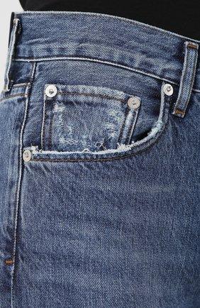 Женские джинсы AGOLDE синего цвета, арт. A045B-1139   Фото 5