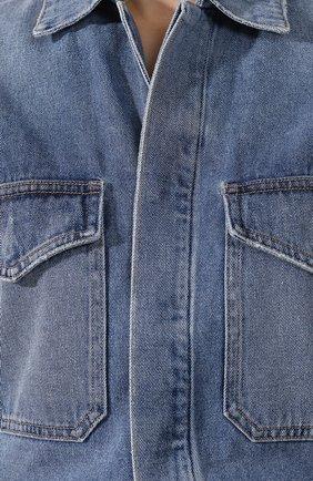 Женский джинсовый комбинезон CITIZENS OF HUMANITY голубого цвета, арт. 1741-1121 | Фото 5