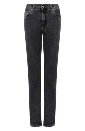 Женские джинсы HELMUT LANG темно-серого цвета, арт. J05DW202 | Фото 1