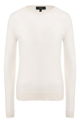 Женский кашемировый пуловер THEORY бордового цвета, арт. J0118711 | Фото 1