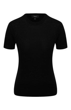 Женский кашемировый топ THEORY черного цвета, арт. J0118706 | Фото 1
