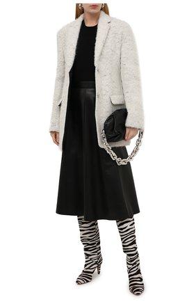Женский кашемировый топ THEORY черного цвета, арт. J0118706 | Фото 2