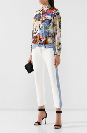 Женские джинсы FRAME DENIM разноцветного цвета, арт. LHSTIB009 | Фото 2