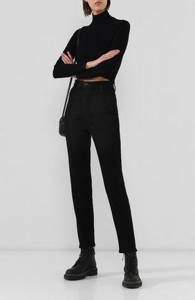 Женские джинсы DENIM X ALEXANDER WANG черного цвета, арт. 4DC2194500 | Фото 2