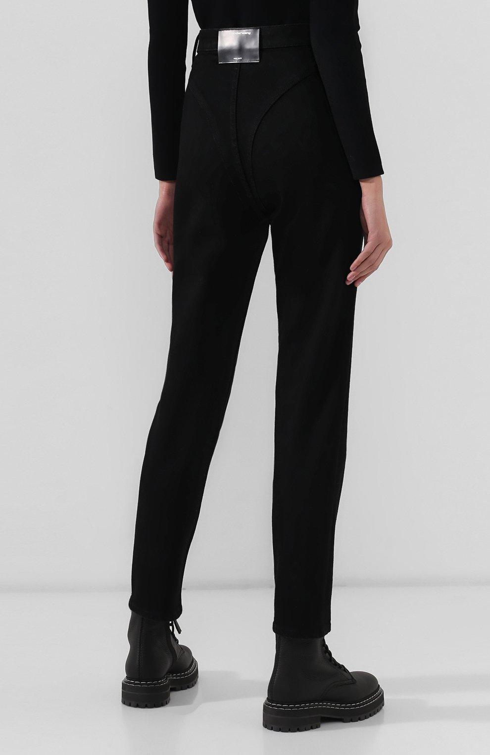 Женские джинсы DENIM X ALEXANDER WANG черного цвета, арт. 4DC2194500 | Фото 4