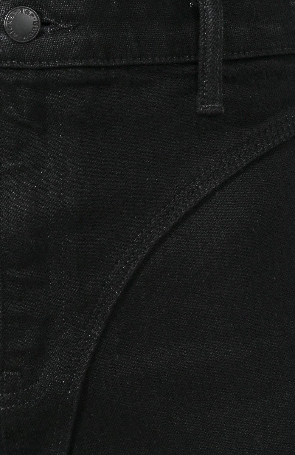 Женские джинсы DENIM X ALEXANDER WANG черного цвета, арт. 4DC2194500 | Фото 5