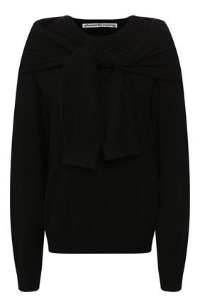 Женская свитер ALEXANDER WANG черного цвета, арт. 1KC2191087 | Фото 1