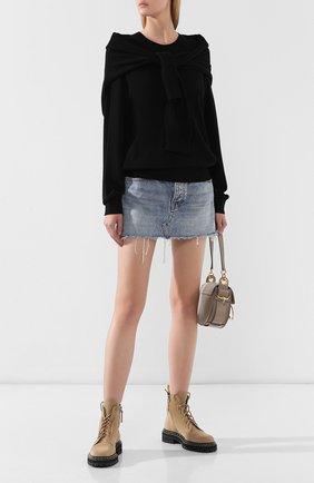 Женская свитер ALEXANDER WANG черного цвета, арт. 1KC2191087 | Фото 2